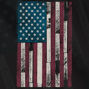 RW Wood Etched Flag Collection