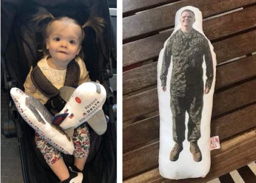 "Toddler who lost her ""daddy doll"" gets reunited in most awesome way"
