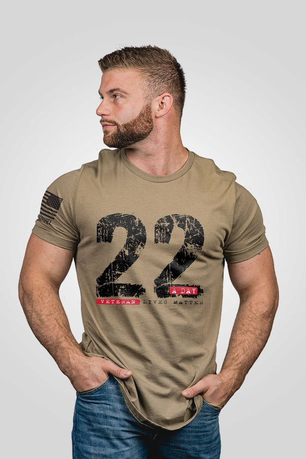 Mens T-Shirt - 22 A Day