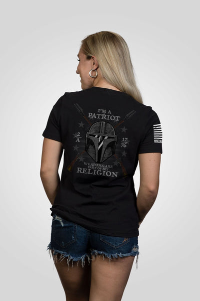 Women's Relaxed Fit T-Shirt - 2A My Religion