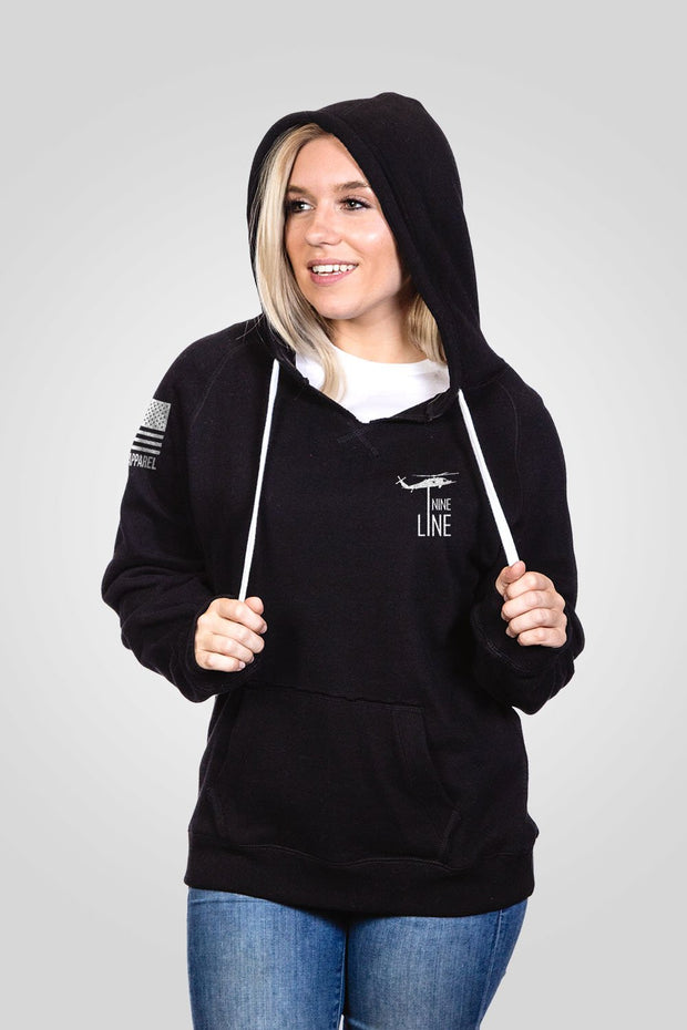 Women's V-Neck Hoodie - 2A My Religion