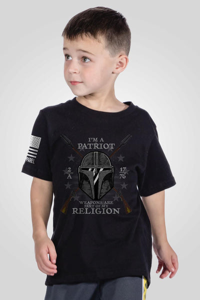 Youth T-Shirt - 2A My Religion
