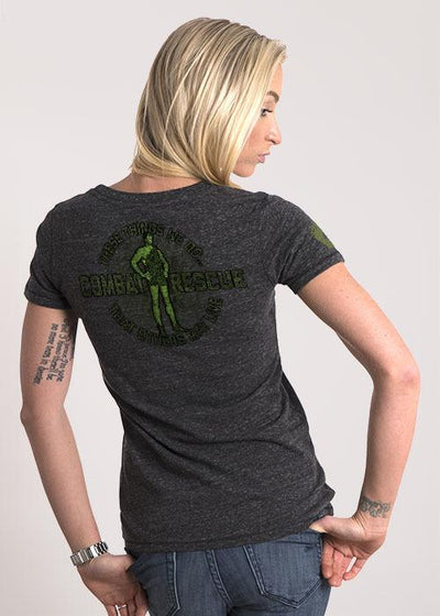 Women's Relaxed Fit T-Shirt - Combat Rescue Jolly Green