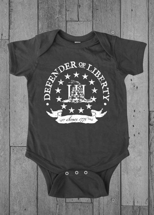 Defender Of Liberty - Onesie