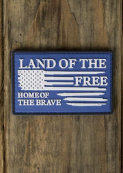Home Of The Brave PVC Patch