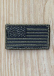 OD Green American Flag Patch