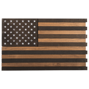 American Flag - Wooden Sign Version 2
