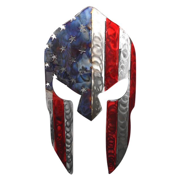 Molten Metal Sign - Spartan Stars and Stripes
