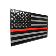 Molten Metal Sign - Thin Red Line