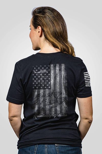 Boyfriend Fit T-Shirt - American Drop Line
