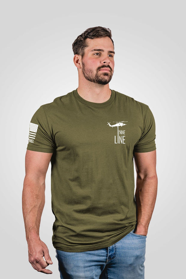 Men's T-Shirt - American Drop Line