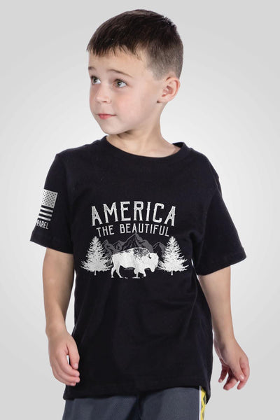 Youth T-Shirt - America the Beautiful