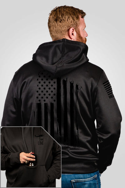 Athletic Tailgater Hoodie - America Dark