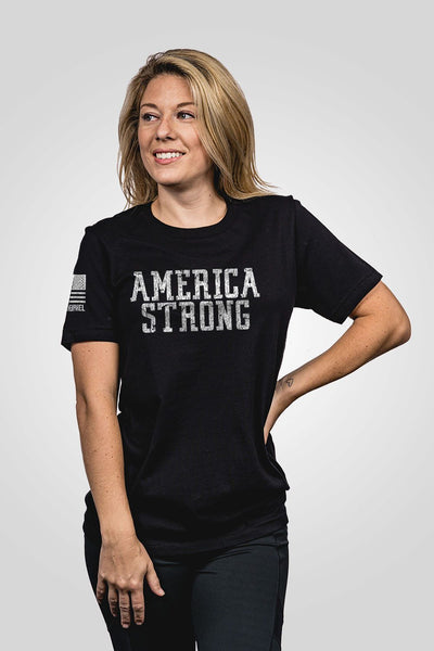 Boyfriend Fit T-Shirt - America Strong