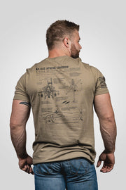 Men's T-Shirt - AH-64D Apache