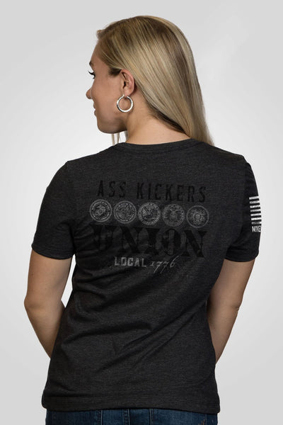 Women's Relaxed Fit T-Shirt – Ass Kickers [Patriots Club Exclusive]
