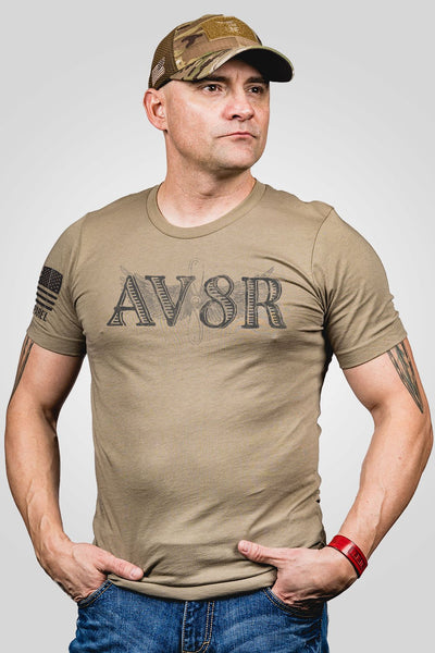 Men's T-Shirt - Ryan Weaver AV8R