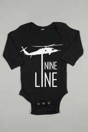 Long Sleeve Onesie - Drop Line