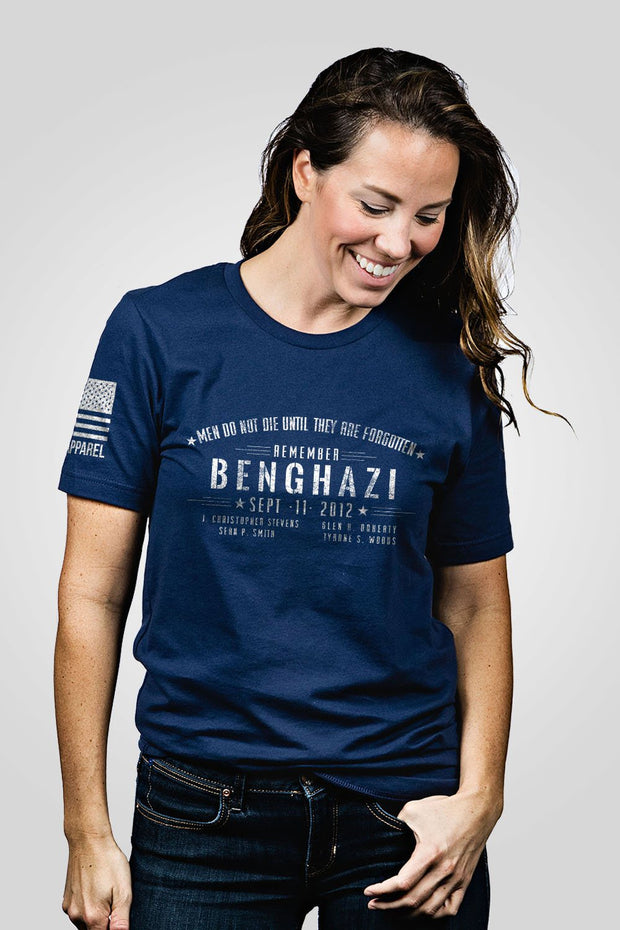 Boyfriend Fit T-Shirt - Benghazi