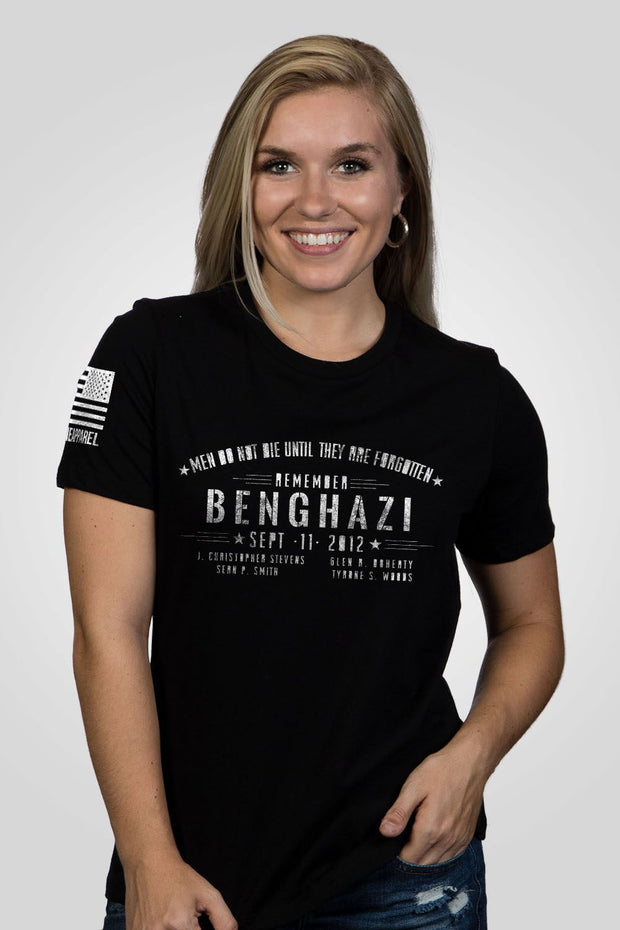 Women's Relaxed Fit T-Shirt - Benghazi
