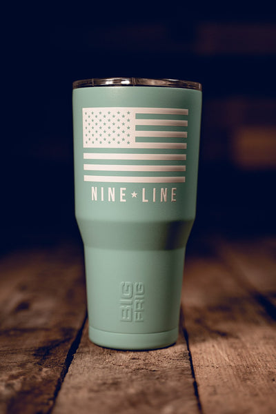 BF 30 oz Tumbler - Nine Line Flag