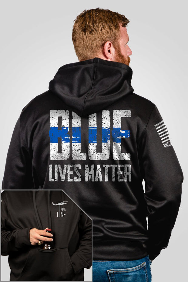 Athletic Tailgater Hoodie - Blue Lives Matter