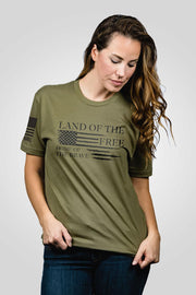 Boyfriend Fit T-Shirt - Home of the Brave