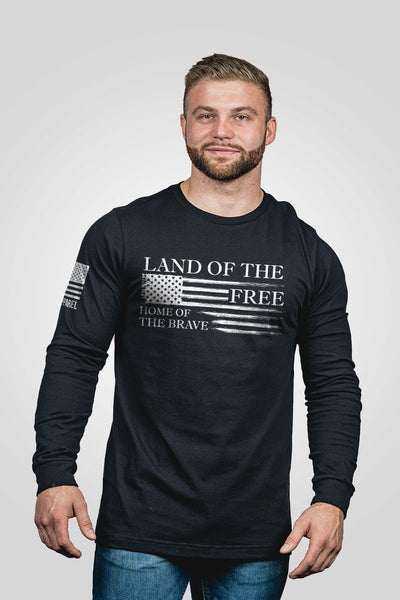 Men's Long Sleeve - Home of the Brave