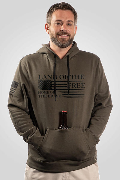 Overwatch Tailgater Hoodie - Home of the Brave