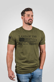 Men's T-Shirt - Home of the Brave