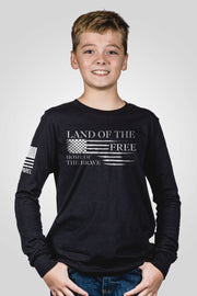 Youth Long Sleeve - Home of the Brave