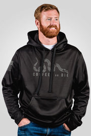 Athletic Tailgater Hoodie - Coffee or Die