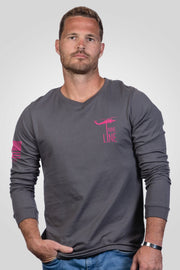 Men's Long Sleeve - Breast Cancer Awareness