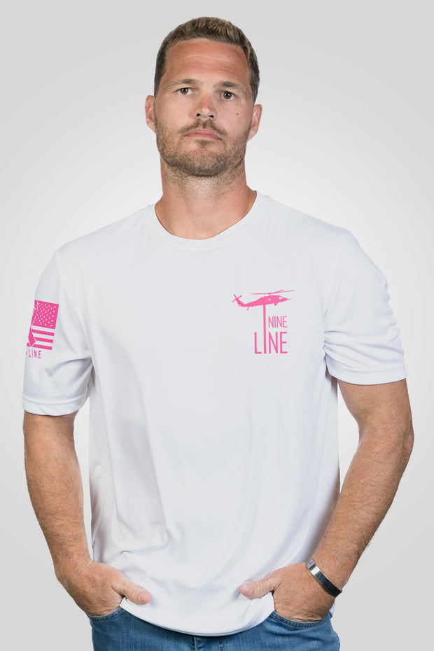 Men's Moisture Wicking T-Shirt - Breast Cancer Awareness