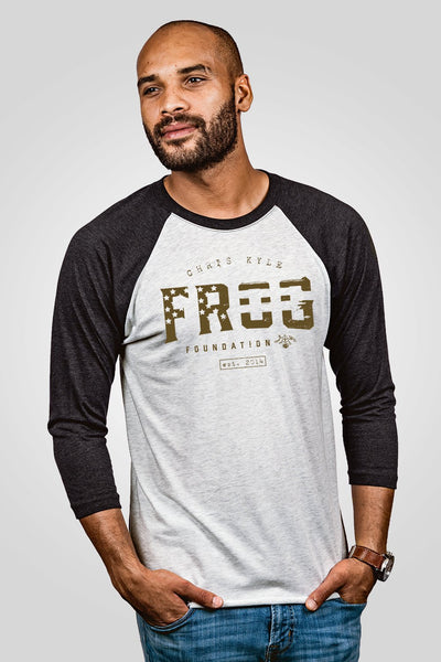 Unisex Baseball Tees - Chris Kyle Frog Foundation