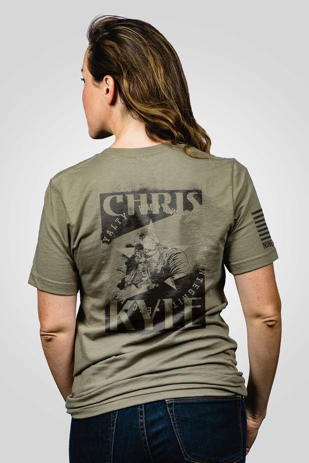 Boyfriend Fit T-Shirt - Chris Kyle Loyalty