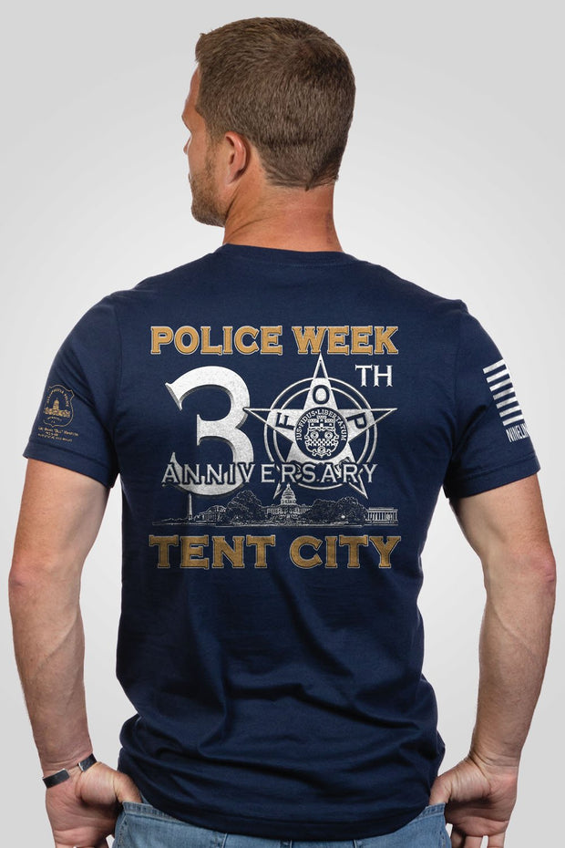 Men's T-Shirt - DC Tent City