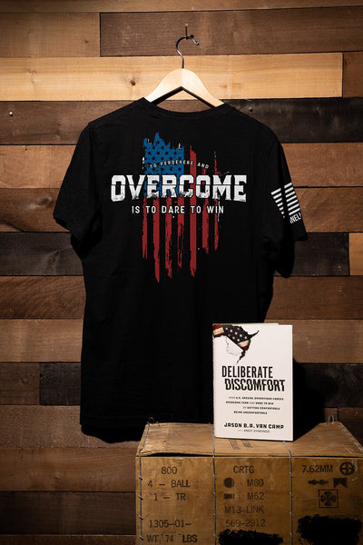 T-Shirt/Book Bundle - Deliberate Discomfort [LTD]