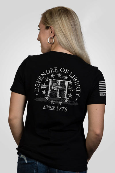 Women's Relaxed Fit T-Shirt – Defender of Liberty [Patriots Club Exclusive]