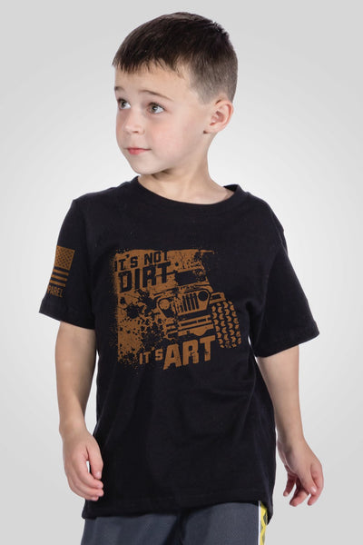 Youth T-Shirt - Art Not Dirt