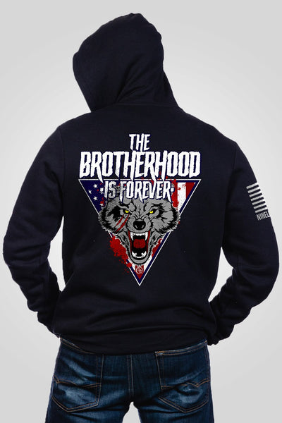 Men's Full-Zip Hoodie - Dustin Rhodes- Brotherhood