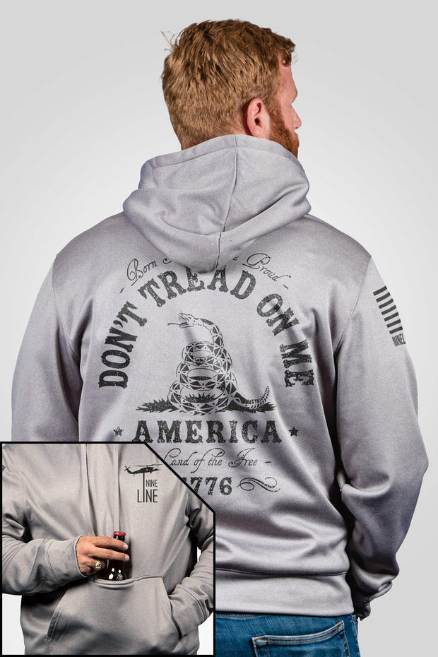 Athletic Tailgater Hoodie - Don't Tread On Me