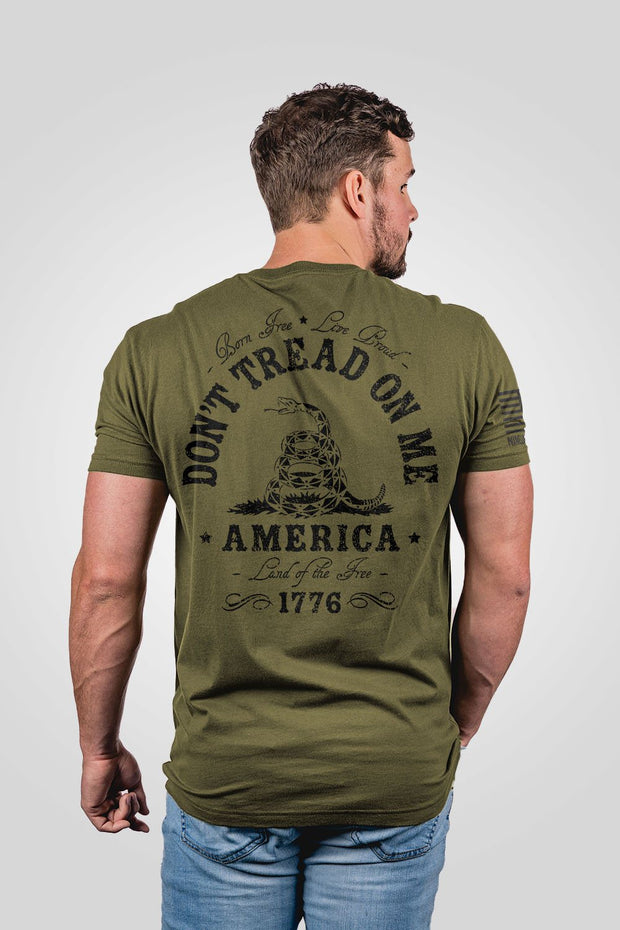 Men's T-Shirt - Don't Tread On Me
