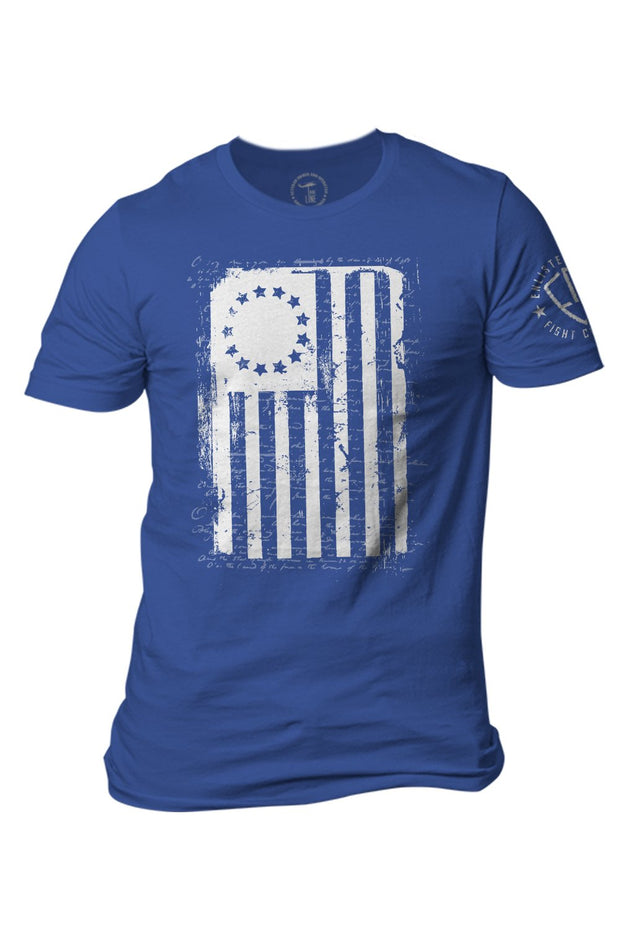 Men's T-Shirt - Enlisted 9 - Betsy Ross