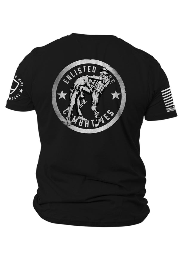 Enlisted Nine - Men's T-Shirt - Combatives Instructor