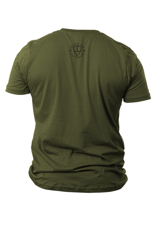 Men's T-Shirt - Enlisted 9 - America First