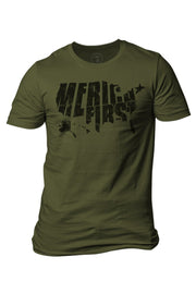 Enlisted 9 - Men's T-Shirt - America First