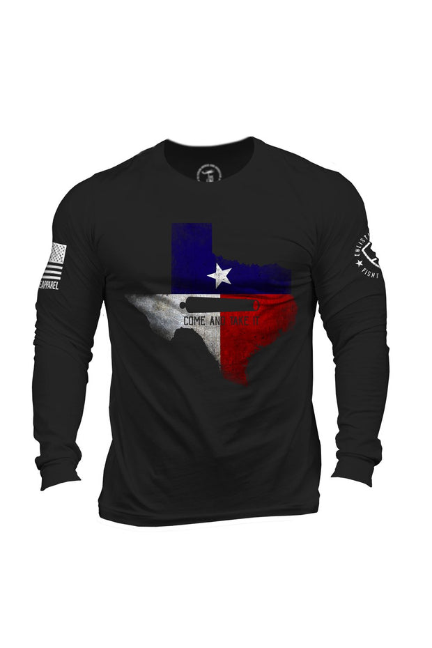 Enlisted 9 - Men's Long Sleeve - Texas Come and Take It