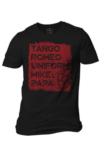 Enlisted 9 - Men's T-Shirt - Tango