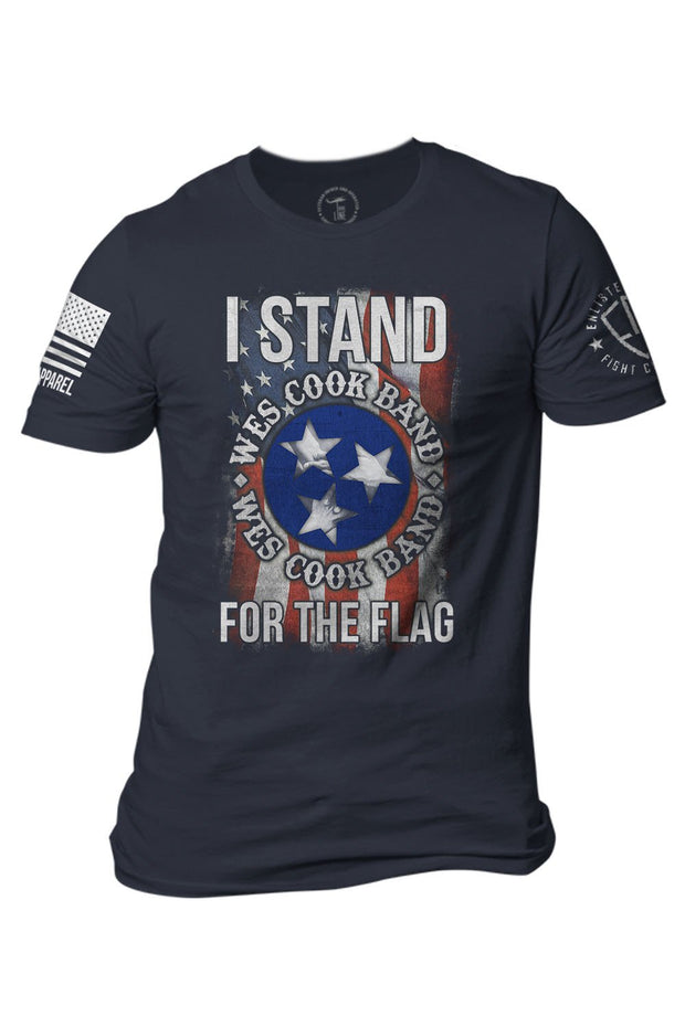 Men's T-Shirt - Enlisted 9 - Wes Cook Band